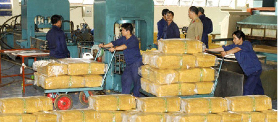 Nhập khẩu cao su tháng 4 của Ấn Độ giảm hơn 90% so với cùng kì
